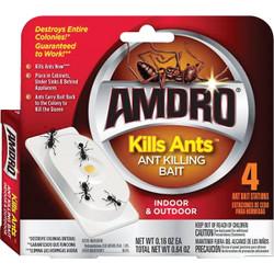 Amdro 0.64 Oz. Solid Ant Bait Station (4-Pack) 100531827