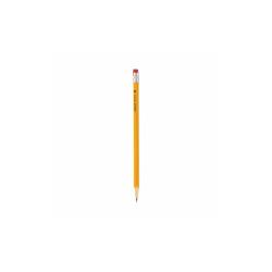 #2 Woodcase Pencil, HB (#2), Black Lead, Yellow Barrel, Dozen 55400