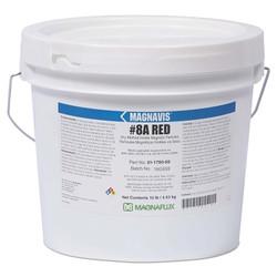 Magnavis Dry Method Non-Fluorescent Magnetic Powders, 45 lb, Pail, Red