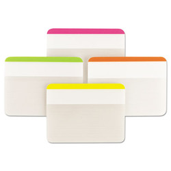 """2"""" and 3"""" Tabs, Lined, 1/5-Cut Tabs, Assorted Brights, 2"""" Wide, 24/Pack 686F-1BB"""