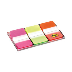 "1"" Tabs, 1/5-Cut Tabs, Assorted Brights, 1"" Wide, 66/Pack 686-PGO"