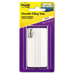 """2"""" and 3"""" Tabs, 1/3-Cut Tabs, White, 3"""" Wide, 50/Pack 686F-50WH3IN"""