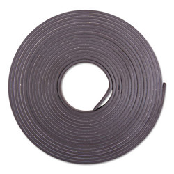 "Adhesive-Backed Magnetic Tape, Black, 1/2"" x 10ft, Roll 66010"