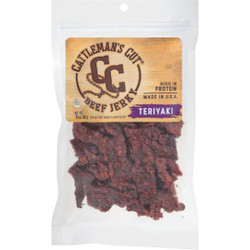 Cattleman's Cut 10 Oz. Teriyaki Beef Jerky 121634 Pack of 6