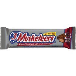 3 Musketeers 3.28 Oz. Milk Chocolate Candy Bar 10095 Pack of 24