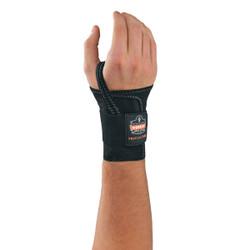 4000 L-Right Black Single Strap Wrist Support