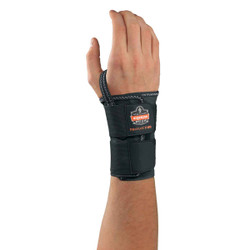 4010 XL-Right Black Double Strap Wrist Support