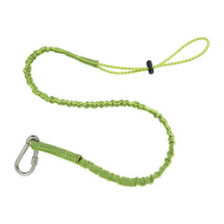 3101 Standard Lime Stainless Single Carabiner-15lb