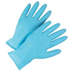 2950 High Risk Industrial Grade Nitrile Gloves, 8 mil, Medium, Blue