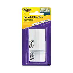 """2"""" and 3"""" Tabs, Lined, 1/5-Cut Tabs, White, 2"""" Wide, 50/Pack 686F-50WH"""