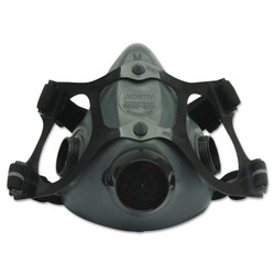 5500 Series Low Maintenance Half Mask Respirator, Medium