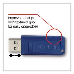 Classic USB 2.0 Flash Drive, 64 GB, Blue 98658