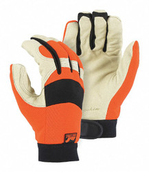Majestic Glove Glove Mechanics A Grade Pigskin, 2152THV/12 1 pair
