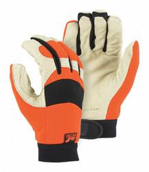 Majestic Glove Glove Mechanics A Grade Pigskin, 2152THV/11 1 pair