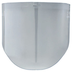 AO Tuffmaster Impact Resistant Faceshields, WP96, Clear Polycarbonate, 14.5 x 9