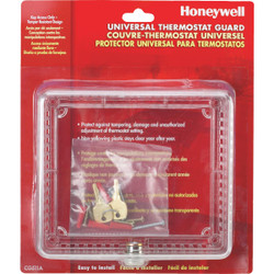Honeywell Clear 7-1/2 In. 6-1/2 In. Thermostat Guard CG511A1000