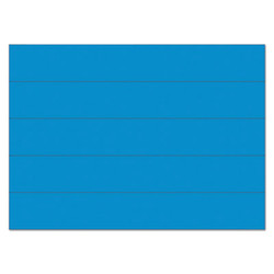 """Dry Erase Magnetic Tape Strips, Blue, 6"""" x 7/8"""", 25/Pack FM2501"""