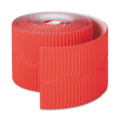 "Bordette Decorative Border, 2 1/4"" x 50' Roll, Flame Red 37036"
