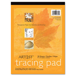 Art1st Parchment Tracing Paper, 16 lb, 9 x 12, White, 50/Pack 2312