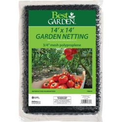Best Garden 3/4 In. Mesh 14 Ft. x 14 Ft. Protective Garden Netting 709424