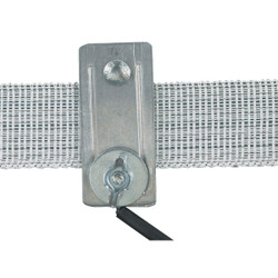 Dare Up to 1-1/2 In. Metal Electric Fence Tape Connector (2-Pack) 2743