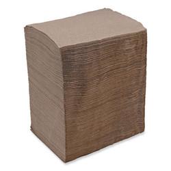 1/4-Fold Lunch Napkins, 1-Ply, 12 x 12, Kraft, 500/Pack, 12 Packs/Carton 8323K