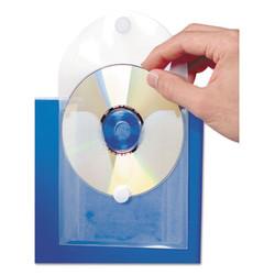 CD Pocket, Clear/White, 5/Pack 61801
