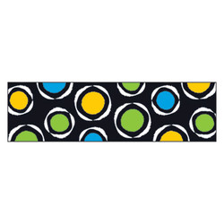 "Bolder Borders, 2 3/4"" x 42"", Bold Strokes Circles, Assorted T85143"