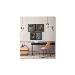 Black Shadow Message Board Set, Assorted Sizes & Colors, 3/Set SOR034