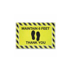 Apache Mills Mat,Maintain 6 Feet Ty,Yl 3984528782X3