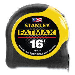 FatMax Reinforced w/Blade Armor Tape Rules, 1 1/4 in x 16 ft