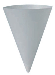 Paper Cone Water Cups, 4 oz, White