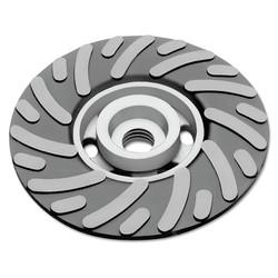 Backing Pad, 11,000 rpm, 4 1/2 in x 5/8 in - 11, Medium
