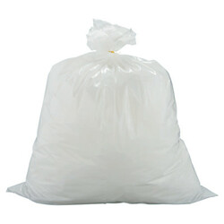Flex-O-Bag® Trash Can Liners, 13 gal, 1.25 mil, 24 in X 30 in, White