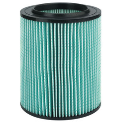 5-Layer HEPA Filter For Wet/Dry Vacuums, For 5-20 Gallon Wet/Dry Vacuums