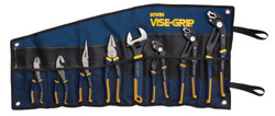 8-pc GrooveLock Pliers Sets, Groovelock;Linesman;Long Nose;Diagonal;SlipJoint