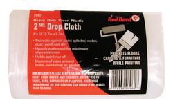 2-MIL. 9'X12' PLASTIC DROP CLOTH