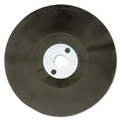 Hook and Loop Backing Pads, 4 1/2 in Diameter