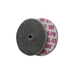 Scotch-Brite EXL Unitized Deburring Wheel,3X3/8, Fine, 12100rpm, Silicon Carbide