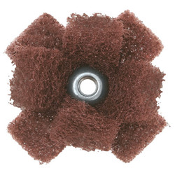 Cross Buffs, Very Fine, Aluminum Oxide