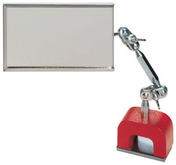 Magnetic Base Inspection Mirrors, 3 1/2 in x 2 in