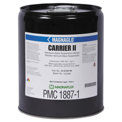 Magnaglo Carrier II Oil, 5 gal, Pail, Clear