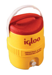 400 Series Coolers, 3 gal, Red; Yellow