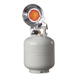 Portable Propane Radiant Heaters, 14,000 Btu/h, 1.5 h