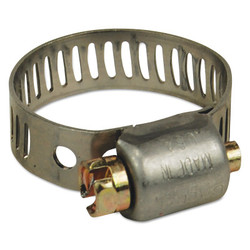 Mh Series Miniature Worm Gear Clamps, 7/32 in to 5/8 in Hose Od, Stainless Steel 300