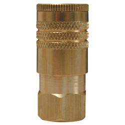 Air Chief ARO Speed Quick Connect Fittings 1/4 in (NPT) F, Brass