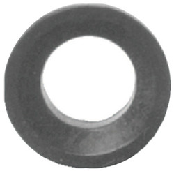 Air King® Washer, 1-5/16 in and 1-3/16 in Dia X 7/16 In, Rubber, Black