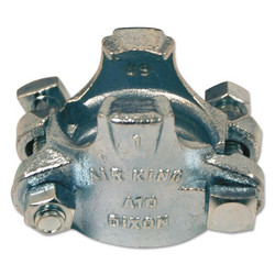 Air King Clamps, 1 1/8 In-1 5/16 in Hose Od, Malleable Iron