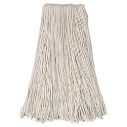 Cotton Saddle Mop Heads, 24 oz, For Wingnut; Quickway; Big Jaw Handles