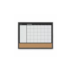 "3-In-1 Combo Planner, 24.21"" x 17.72"", White, MDF Frame MX04511161"